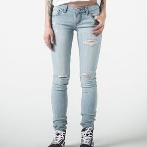 RSQ Pants - Tilly's RSQ Ibiza Skinny Jeans in Lightwash!
